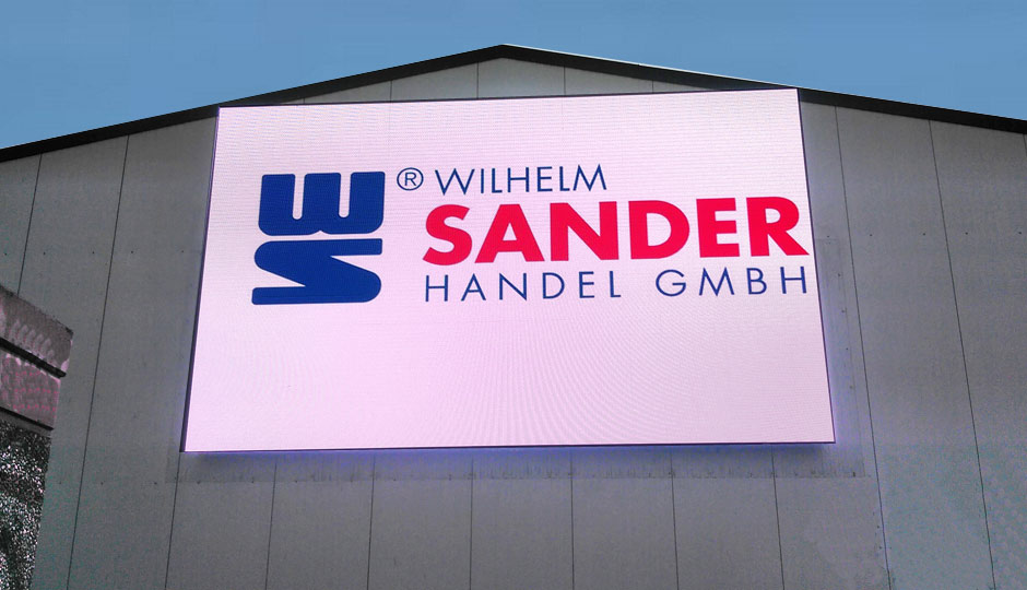 Installation LED-Screen in Bremen